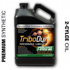 TriboDyn Premium Synthetic 2-tahtiöljy (3.785 L)